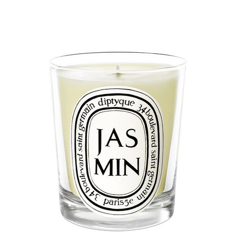 Jasmin Scented Candle 190g, ${color}