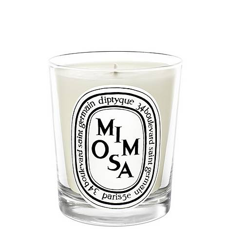 Mimosa Scented Candle 190g, ${color}