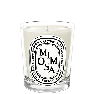Mimosa Scented Candle 190g