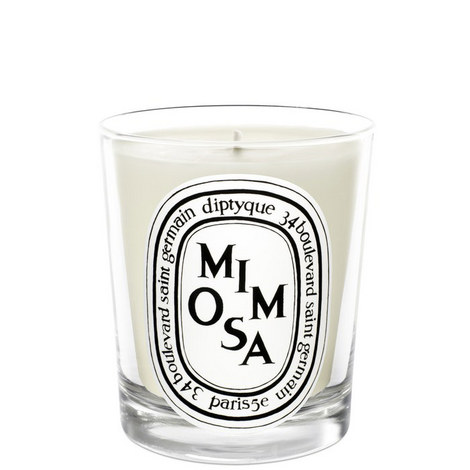 Mimosa Mini Scented Candle 70g, ${color}
