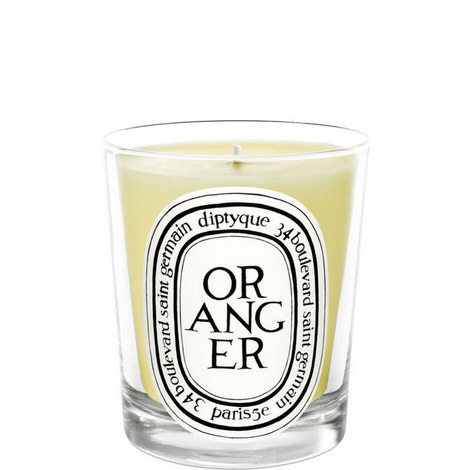 Orange Tree Scented Candle 190g, ${color}