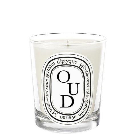 Oud Scented Candle 190g, ${color}