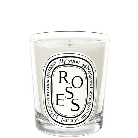 Roses Scented Candle 190g, ${color}