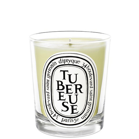 Tubereuse Scented Candle 190g, ${color}