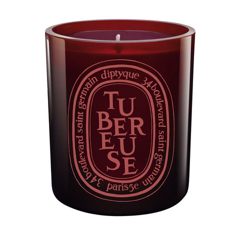 Tubereuse Coloured Scented Candle 300g, ${color}
