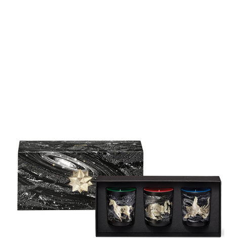 3 x 70g Constellation Holiday Candles 190g, ${color}