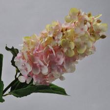 Hydrangea White & Pink 71cm