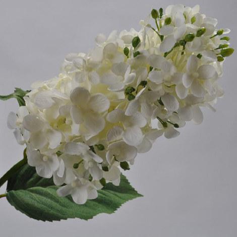 Hydrangea Spray White 71cm, ${color}