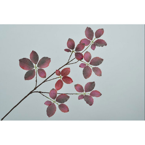 Faux Birch Leaf Spray, ${color}