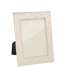 Pearl Cream Enamel Frame 4x6
