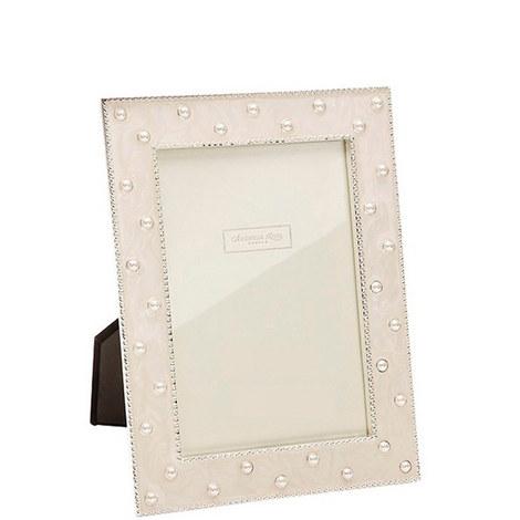 Pearl Cream Enamel Frame 4x6, ${color}