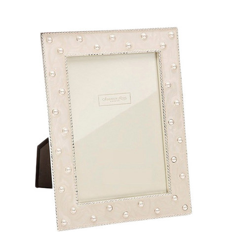 Pearl Cream Enamel Frame 5x7, ${color}