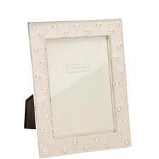 Pearl Cream Enamel Frame 5x7