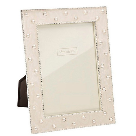 Pearl Cream Enamel Frame 8x10, ${color}