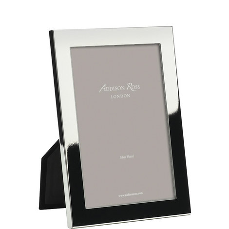 Silver Plated Square Frame 5x7, ${color}