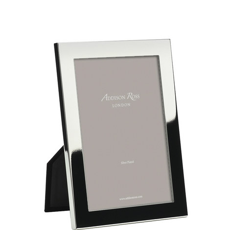 Silver Plated Square Frame 4x6, ${color}