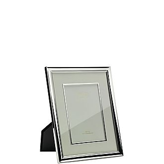 Silver Plated Mount Frame 5x7