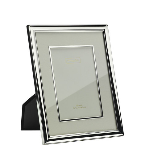 Silver Plated Mount Frame 4x6, ${color}