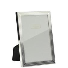 Herringbone Silver Plated Frame 4x6