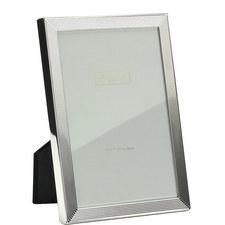 Herringbone Silver Plated Frame 8x10