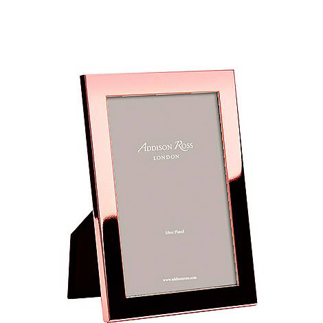 Rose Gold Photo Frame 4 x 6, ${color}