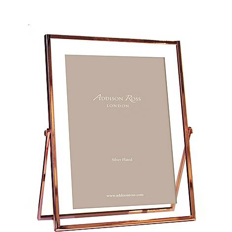 Rose Gold and Glass Photo Frame 5 x 7, ${color}