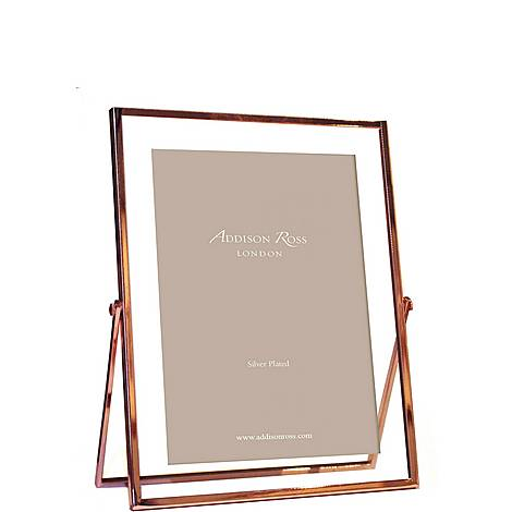 Rose Gold and Glass Photo Frame 4 x 6, ${color}