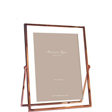 Rose Gold and Glass Photo Frame 4 x 6