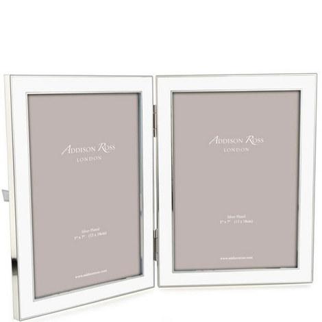 Double Enamel Frame 5 x 7, ${color}