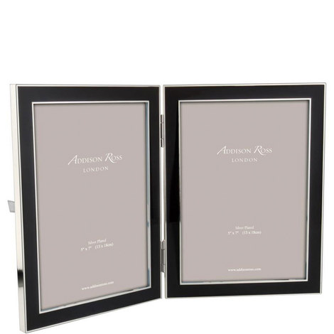Double Enamel Photo Frame 5 x 7, ${color}