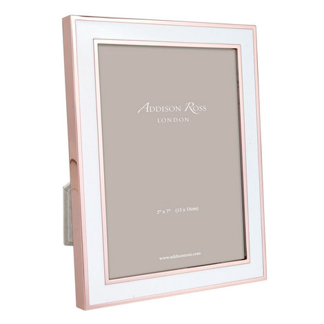 Rose Gold Enamel Frame 5x7, ${color}