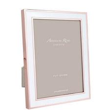 Rose Gold Enamel Frame 5x7