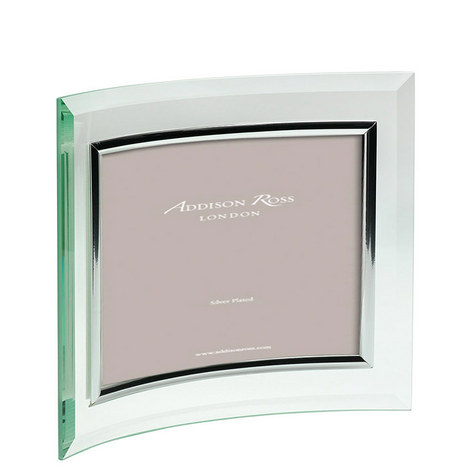 Curved Glass Landscape Photo Frame 5 x 7, ${color}