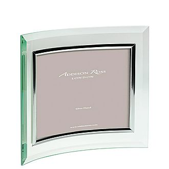Curved Glass Landscape Photo Frame 5 x 7