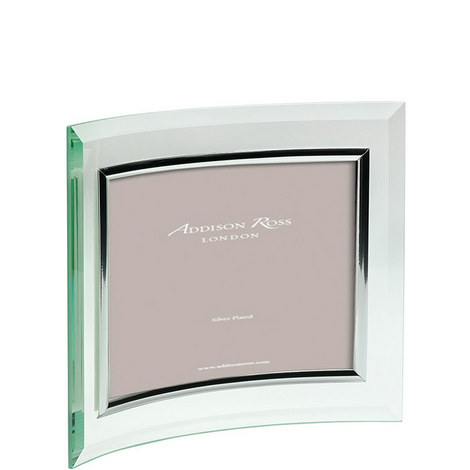Curved Glass Landscape Photo Frame 4 x 6, ${color}