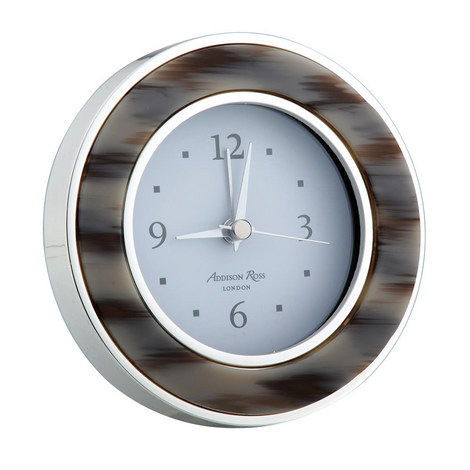 Grey Horn Alarm Clock, ${color}