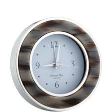 Grey Horn Alarm Clock