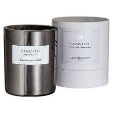 Cassis Leaf Candle