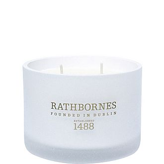 Dublin Tea Rose, Oud and Patchouli Classic Candle