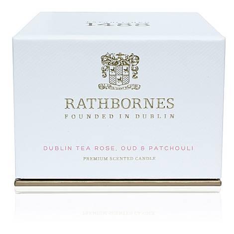 Dublin Tea Rose, Oud and Patchouli Travel Candle, ${color}