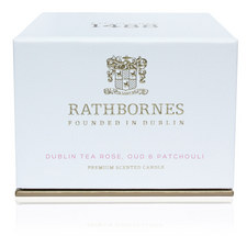 Dublin Tea Rose Travel Candle
