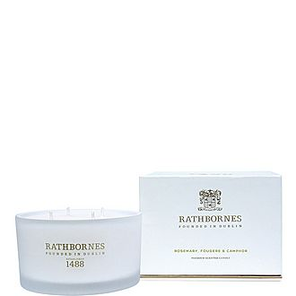 Rosemary, Fougere and Camphor Luxury Candle