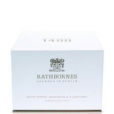White Pepper, Honeysuckle and Vertivert Luxury Candle