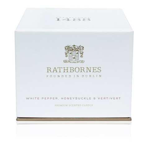 White Pepper, Honeysuckle and Vertivert Classic Candle, ${color}