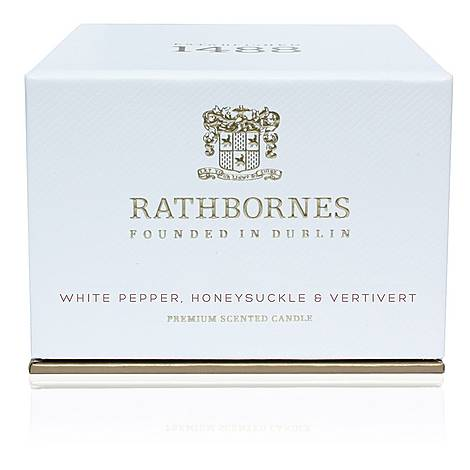 White Pepper, Honeysuckle and Vertivert Travel Candle, ${color}