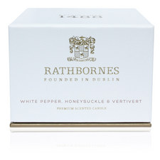 White Pepper, Honeysuckle and Vertivert Travel Candle