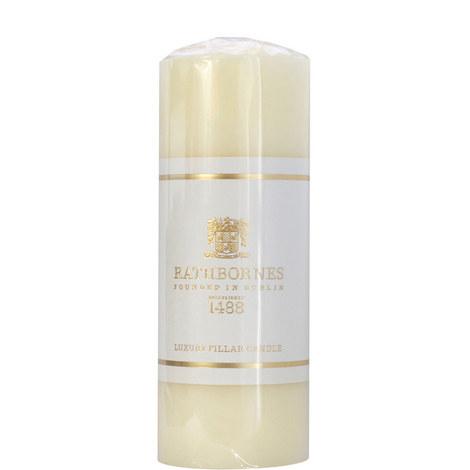 Luxury Pillar Candle Medium, ${color}