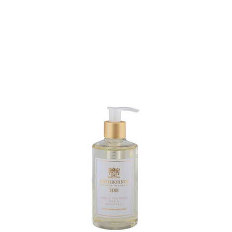 Dublin Tea Rose Hand and Body Wash, ${color}