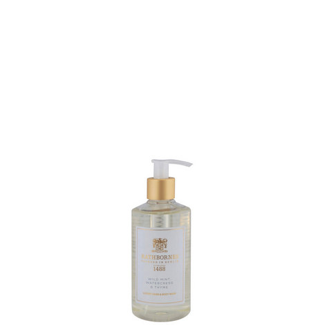Mint, Watercress and Thyme Luxury Hand and Body Wash, ${color}