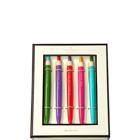 5-Piece Ink Pen Set, ${color}